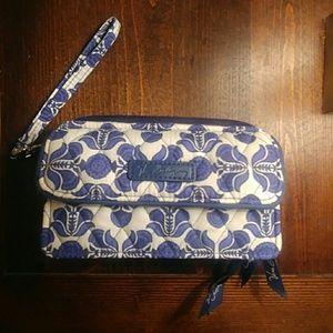Vera Bradley Large Wrist Wallet